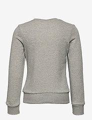 adidas Performance - YG E Lin Sweat - sweatshirts - mgreyh/sigpnk - 1