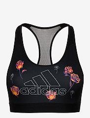 adidas Performance - Floral Bra W - sort bras:high - black - 0