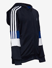adidas Performance - B A.R. 3S FZ HD - kapuzenpullover - legink/white/royblu - 3