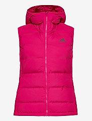 adidas Performance - W Helionic Vest - puffer vests - bopink - 3