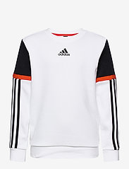 adidas Performance - B BOLD CREW - sweatshirts - white/black - 0