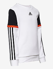 adidas Performance - B BOLD CREW - sweatshirts - white/black - 3