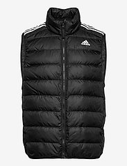 adidas Performance - Essentials Light Down Hooded Parka - sportjackor - black - 1