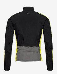 adidas Performance - Track Jacket - sportsjakker - black/grefiv/aciyel - 2