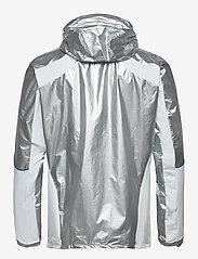 adidas Performance - Marathon Space Race Jacket - sportsjakker - msilve/white - 2