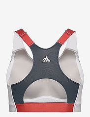 adidas Performance - Ultimate Alpha Adi Life Bra W - sort bras:high - white/crenav/crenav - 2