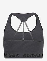 adidas Performance - Training Aeroknit Bra W - sort bras:high - dgsogr - 2