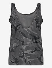 adidas Performance - Designed To Move AEROREADY Camouflage-Print Tank Top W - topjes - gresix/white - 2