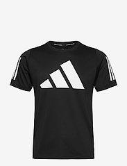adidas Performance - FreeLift T-Shirt - football shirts - black - 1