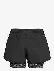 adidas Performance - Fast Two-in-One Primeblue Graphic Shorts W - træningsshorts - black/grefou - 2