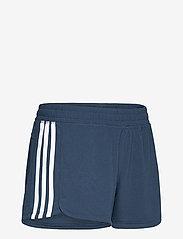 adidas Performance - Pacer 3-Stripes Knit Shorts W - training korte broek - crenav/white - 4