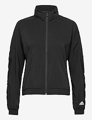 adidas Performance - Woven Badge of Sport Jacket W - koulutustakit - black/white - 1