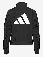 adidas Performance - Woven Badge of Sport Jacket W - koulutustakit - black/white - 2