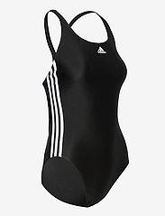 adidas Performance - SH3.RO Classic 3-Stripes Swimsuit W - sportsbadetøy - black/white - 3