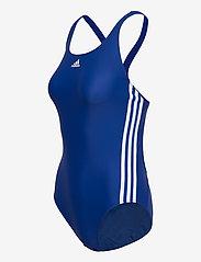 adidas Performance - SH3.RO Classic 3-Stripes Swimsuit W - stroje kąpielowe - royblu/white - 3