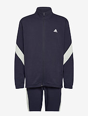 adidas Performance - Sportswear Cotton Track Suit - dresy - legink/cwhite - 1