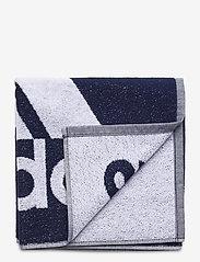 adidas Performance - Towel Small - overige accessoires - navblu/white - 0