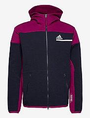 adidas Performance - ZNE FZ - basic-sweatshirts - legink/powber - 1