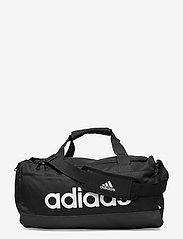 Essentials Logo Duffel Bag Extra Small - BLACK/WHITE