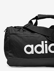 adidas Performance - Essentials Logo Duffel Bag Extra Small - træningstasker - black/white - 3