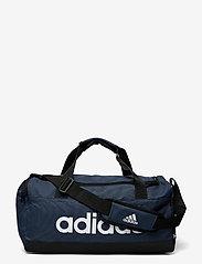 adidas Performance - Essentials Logo Duffel Bag Extra Small - træningstasker - crenav/black/white - 0