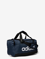 adidas Performance - Essentials Logo Duffel Bag Extra Small - træningstasker - crenav/black/white - 2