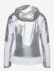 adidas Performance - Marathon Space Race Jacket W - träningsjackor - msilve/white - 2