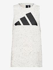 adidas Performance - Sportswear Winners 2.0 Tank Top W - topjes - whtmel - 1