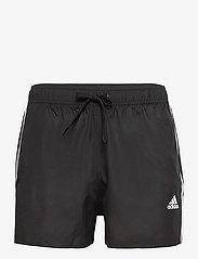 adidas Performance - Classic 3-Stripes Swim Shorts - shorts - black - 1