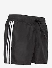 adidas Performance - Classic 3-Stripes Swim Shorts - shorts - black - 4