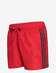 adidas Performance - Classic 3-Stripes Swim Shorts - shorts - glored/crenav - 3