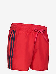 adidas Performance - Classic 3-Stripes Swim Shorts - shorts - glored/crenav - 4