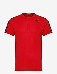 adidas Performance - Primeblue AEROREADY 3-Stripes Slim T-Shirt - sportoberteile - vivred - 1