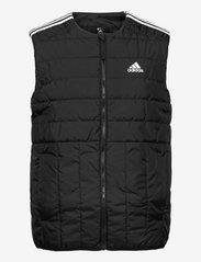adidas Performance - Itavic 3-Stripes Light Vest - friluftsjackor - black - 1