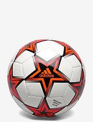 adidas Performance - UCL Club Pyrostorm Ball - football equipment - white/black/solred - 0