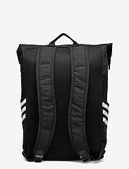 adidas Performance - Classic Roll-Top Backpack - sportstasker - black/white - 1