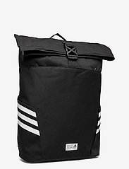 adidas Performance - Classic Roll-Top Backpack - sportstasker - black/white - 2