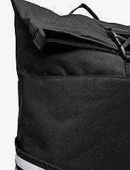 adidas Performance - Classic Roll-Top Backpack - sportstasker - black/white - 3