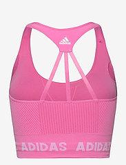 adidas Performance - Training Aeroknit Bra W - sport bras: low - scrpnk - 2