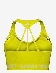adidas Performance - Training Aeroknit Bra W (Plus Size) - sportbeh''s: low - aciyel - 2