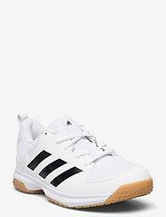 adidas Performance - Ligra 7 Indoor - indendørs sportssko - ftwwht/cblack/ftwwht - 0