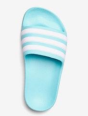 adidas Performance - Adilette Aqua Slides - pool sliders - pulaqu/ftwwht/pulaqu - 3
