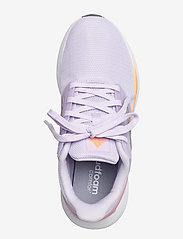 adidas Performance - EQ19 Run  W - running shoes - prptnt/msilve/scrora - 3