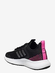 adidas Performance - Fluidstreet  W - running shoes - cblack/ironmt/scrpnk - 2