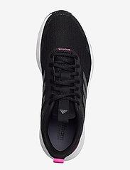 adidas Performance - Fluidstreet  W - running shoes - cblack/ironmt/scrpnk - 3