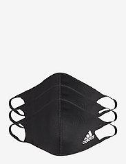 adidas Performance - FACE CVR SMALL - ansiktsmasker - black - 0
