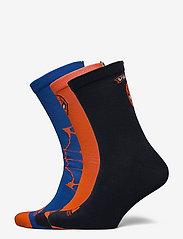 adidas Performance - Marvel Spider-Man Primegreen Socks 3 Pairs - skarpety & rajstopy - legink/borang/blue - 0