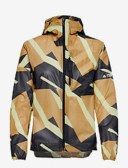 Terrex Agravic Graphic 2.5 Layer Rain Jacket W - MESA