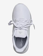 adidas Performance - EQ19 Run  W - running shoes - ftwwht/ftwwht/silvmt - 3