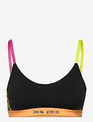 adidas Performance - Love Unites 3-Stripes Graphic Low Support Sports Bra W - sport bras: low support - black - 1